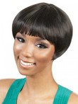 Short Camila Synthetic Capless African American Wig