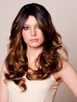 Fearne Wavy Fashion Black Celebrity Wig