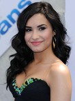 Hairstyle Demi Lovato Dazzling Lace Front Human Hair Wig