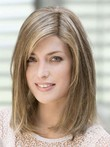 Straight Fashionable Silky Full Lace Trinity Human Hair Wig
