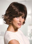 Striking Wavy Synthetic Capless Wig