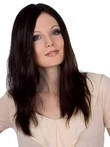 Long Admirable Centre Parting Lace Front Human Hair Wig