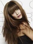 Capless Straight Chic Human Hair Wig