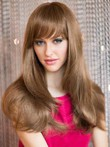 Comfortable Capless Straight Human Hair Wig