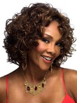 Loose Synthetic Lace Front Wavy African American Wig