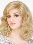 Simple Synthetic Wavy Capless Wig