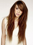 Straight Marvelous Human Hair Capless Wig