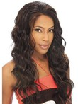 Lace Front Wavy Long Remy Human Hair African American Wig