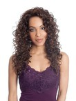 Synthetic Spiral Curl Long Lace Wig For Woman