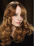 Synthetic Wavy Fashionable Lace Front Wig