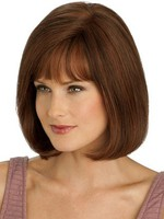 Length Mid-graceful Full Lace With Mono Top Straight Wig