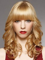 Medium Length Popular Wavy Capless Synthetic Wig