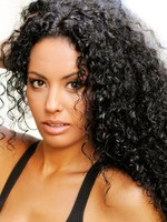 Silky Curly Water Human Hair Full Lace Wig