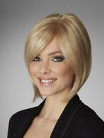 Monofilament Bob Style Full Lace Straight Top Synthetic Wig