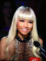 Nicki Minaj's Long Synthetic Wavy Celebrity Wig