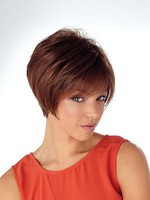 Straight Natural Bob Style Short Capless Synthetic Wig