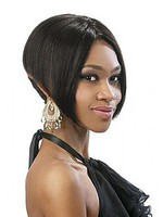 Short Full Lace Straight African American Wig