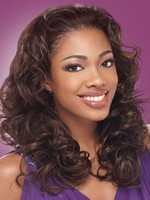 Natural Human Hair Lace Front Wavy Wig