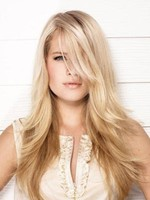 Modern Long Straight Lace Front Synthetic Wig