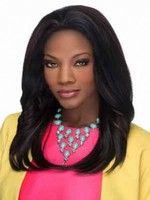 Straight Lace Front African American Wig