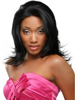 Synthetic Heat Friendly Straight African American Wig
