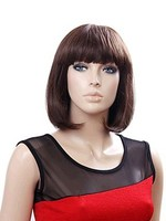 Straight Synthetic Graceful Capless Wig For Woman