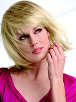 Layecapless Graceful Red Synthetic Bob Wig