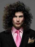 "14"" Synthetic Wavy Mens Wig"