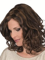 Lace Front Magic Hand-tied Classic Mono Top Wavy Wig