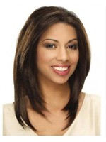 Lace Front Straight Long Nice Synthetic Wig