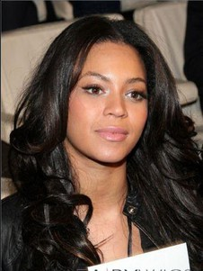 Beyonce Wavy Remy Human Hair 100% Full Lace Celebrity Wig