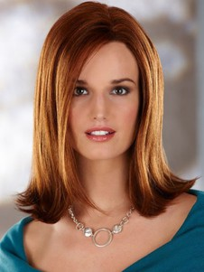 Synthetic Straight Classic Capless Wig