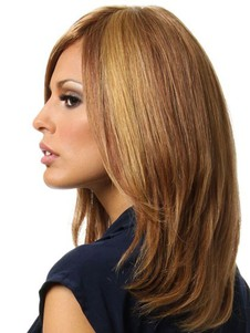 Human Hair New Style Full Lace Wig For Woman