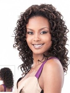 Synthetic Pretty Curly Lace Front Wig