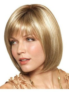 Length Monofilament Medium Glamorous Bob Wig