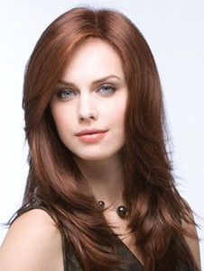 Straight Natural Full Lace Wig For Woman