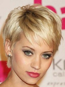 Celebrity Noble Straight Short Celebrity Wig