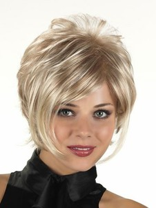 Capless Lightweight Pleasant Synthetic Wig