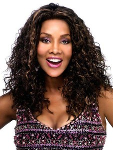 Lace Long Wavy Synthetic Front Modern African American Wig