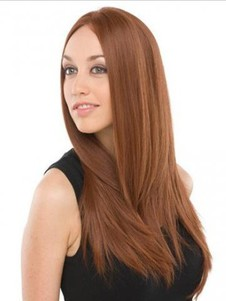 New Style Straight Remy Human Hair Lace Front Wig For Woman