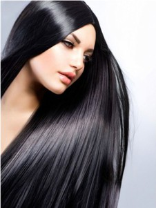 Full Lace New Style Designed Black Straight Wig