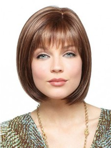 Remy Human Hair 100% Bob Style Full Lace Wig