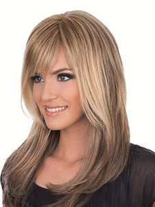 Full Lace Magnificent Wig With Bangs