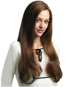 Straight Long Magnificent Remy Human Hair Wig