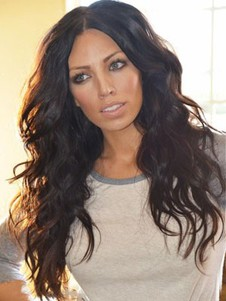 Human Hair Most Popular Lace Front Wavy Wig
