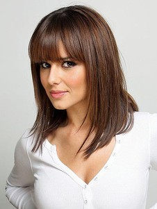 Cheryl Cole's Lace Front Straight Celebrity Wig