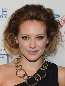 Hilary Duff's Lace Hairstyle Celebrity Wig