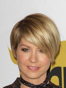 Jennifer Aniston Straight Short Full Lace Celebrity Wig