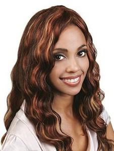 Deep Full Lace Wavy Remy Human Hair Wig For Woman