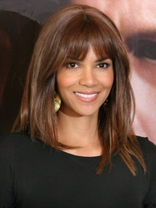 Straight Halle Berry's Hairstyle Comfortable Wig